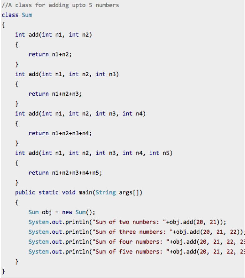 overloadingCode